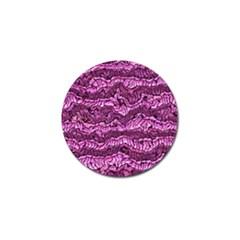 Alien Skin Hot Pink Golf Ball Marker by ImpressiveMoments
