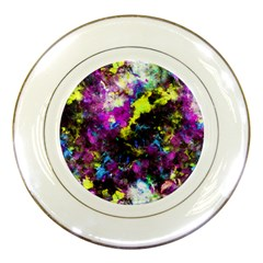 Colour Splash G264 Porcelain Plates by MedusArt