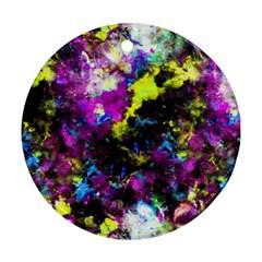 Colour Splash G264 Round Ornament (two Sides)  by MedusArt