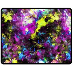 Colour Splash G264 Double Sided Fleece Blanket (Medium)  by MedusArt