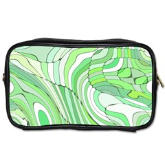 Retro Abstract Green Toiletries Bags by ImpressiveMoments