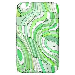 Retro Abstract Green Samsung Galaxy Tab 3 (8 ) T3100 Hardshell Case  by ImpressiveMoments