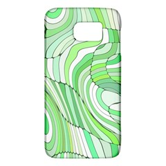 Retro Abstract Green Galaxy S6 by ImpressiveMoments