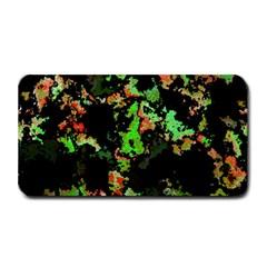 Splatter Red Green Medium Bar Mats by MoreColorsinLife