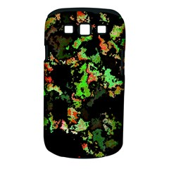 Splatter Red Green Samsung Galaxy S Iii Classic Hardshell Case (pc+silicone) by MoreColorsinLife