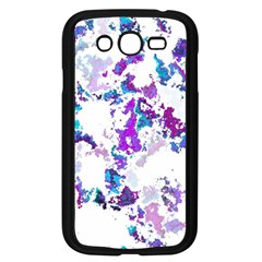 Splatter White Lilac Samsung Galaxy Grand Duos I9082 Case (black) by MoreColorsinLife