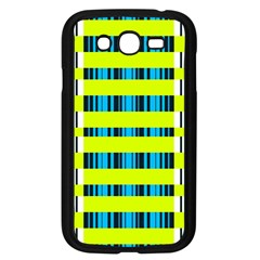 Rectangles and vertical stripes pattern Samsung Galaxy Grand DUOS I9082 Case (Black)