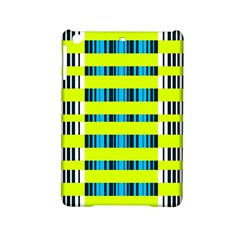 Rectangles And Vertical Stripes Pattern Apple Ipad Mini 2 Hardshell Case by LalyLauraFLM
