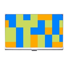 Tetris Shapes Business Card Holder by LalyLauraFLM