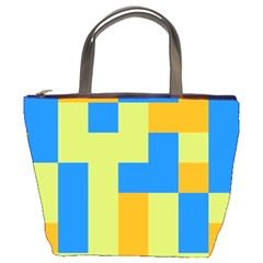 Tetris Shapes Bucket Bag by LalyLauraFLM