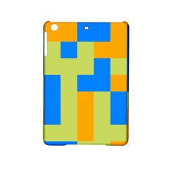 Tetris Shapes Apple Ipad Mini 2 Hardshell Case by LalyLauraFLM