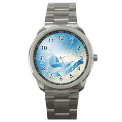 Music Sport Metal Watches by FantasyWorld7