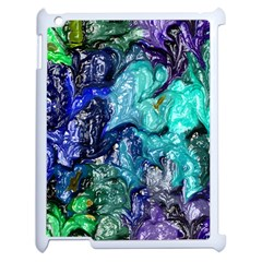 Strange Abstract 1 Apple Ipad 2 Case (white) by MoreColorsinLife