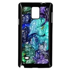 Strange Abstract 1 Samsung Galaxy Note 4 Case (black) by MoreColorsinLife