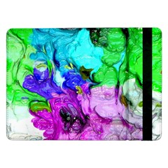 Strange Abstract 4 Samsung Galaxy Tab Pro 12 2  Flip Case by MoreColorsinLife