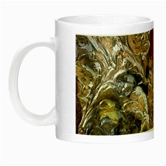 Strange Abstract 5 Night Luminous Mugs by MoreColorsinLife