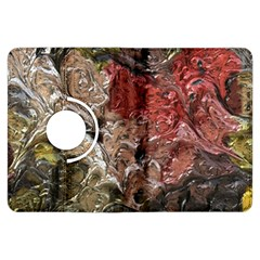 Strange Abstract 5 Kindle Fire Hdx Flip 360 Case by MoreColorsinLife