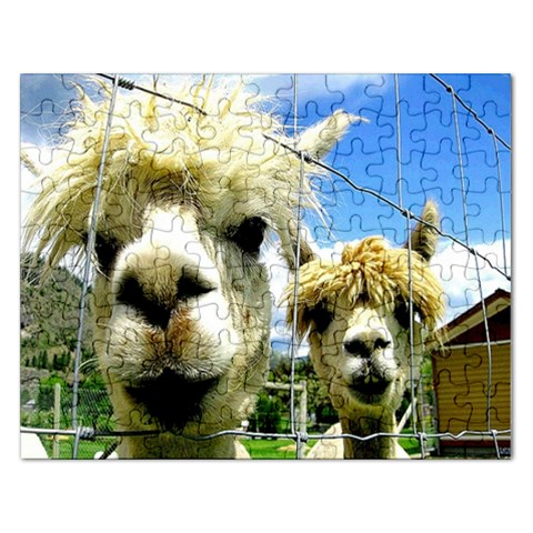Lamas : Puzzell By Pamela Sue Goforth   Jigsaw Puzzle (rectangular)   Y2u2a2chinq0   Www Artscow Com Front