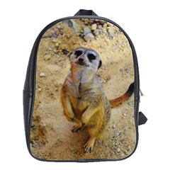 Lovely Meerkat 515p School Bags(large)  by ImpressiveMoments