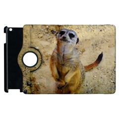 Lovely Meerkat 515p Apple Ipad 2 Flip 360 Case by ImpressiveMoments