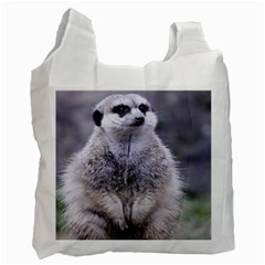 Adorable Meerkat 03 Recycle Bag (Two Side)  by ImpressiveMoments