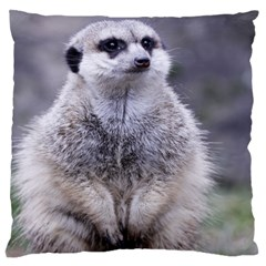 Adorable Meerkat 03 Standard Flano Cushion Cases (Two Sides)