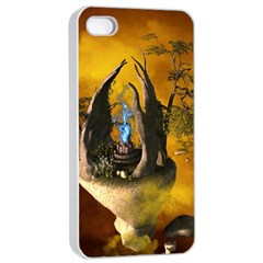 The Forgotten World In The Sky Apple Iphone 4/4s Seamless Case (white) by FantasyWorld7