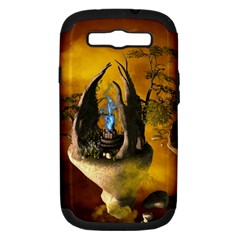 The Forgotten World In The Sky Samsung Galaxy S III Hardshell Case (PC+Silicone) by FantasyWorld7