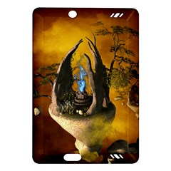 The Forgotten World In The Sky Kindle Fire Hd (2013) Hardshell Case by FantasyWorld7