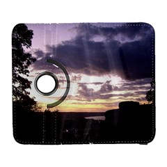 Sunset Over The Valley Samsung Galaxy S  III Flip 360 Case by canvasngiftshop