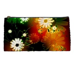 Awesome Flowers In Glowing Lights Pencil Cases by FantasyWorld7