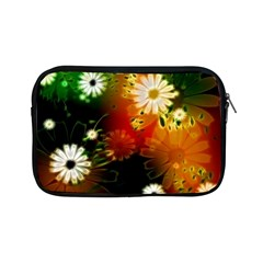 Awesome Flowers In Glowing Lights Apple Ipad Mini Zipper Cases by FantasyWorld7