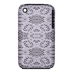 Bridal Lace 3 Apple Iphone 3g/3gs Hardshell Case (pc+silicone) by MoreColorsinLife