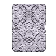 Bridal Lace 3 Samsung Galaxy Tab 2 (10 1 ) P5100 Hardshell Case  by MoreColorsinLife