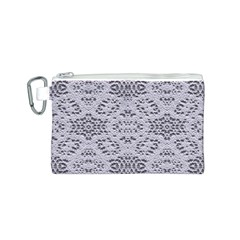 Bridal Lace 3 Canvas Cosmetic Bag (s) by MoreColorsinLife
