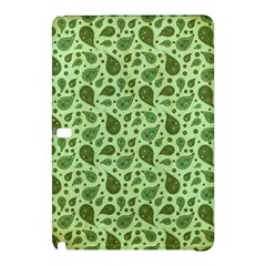 Vintage Paisley Green Samsung Galaxy Tab Pro 12 2 Hardshell Case by MoreColorsinLife