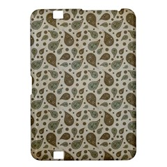 Vintage Paisley Grey Kindle Fire Hd 8 9  by MoreColorsinLife