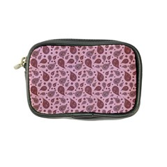 Vintage Paisley Pink Coin Purse by MoreColorsinLife