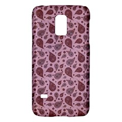 Vintage Paisley Pink Galaxy S5 Mini by MoreColorsinLife