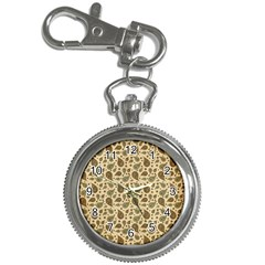 Vintage Paisley Key Chain Watches by MoreColorsinLife