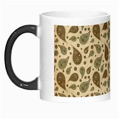 Vintage Paisley Morph Mugs by MoreColorsinLife