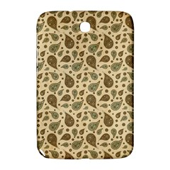 Vintage Paisley Samsung Galaxy Note 8 0 N5100 Hardshell Case  by MoreColorsinLife