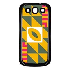 Shapes In A Mirror Samsung Galaxy S3 Back Case (black) by LalyLauraFLM