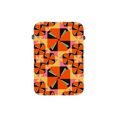 Windmill In Rhombus Shapes Apple Ipad Mini Protective Soft Case by LalyLauraFLM