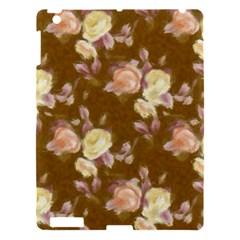 Vintage Roses Golden Apple iPad 3/4 Hardshell Case