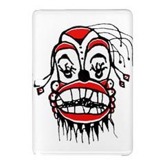 Dark Clown Drawing Samsung Galaxy Tab Pro 12 2 Hardshell Case by dflcprints