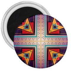 Cross And Other Shapes 3  Magnet by LalyLauraFLM