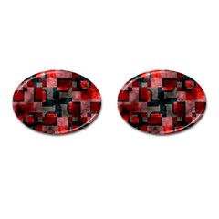 Textured Shapes Cufflinks (oval) by LalyLauraFLM