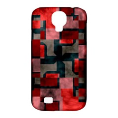 Textured Shapes Samsung Galaxy S4 Classic Hardshell Case (pc+silicone) by LalyLauraFLM