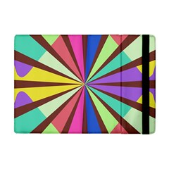 Rays In Retro Colors Apple Ipad Mini Flip Case by LalyLauraFLM